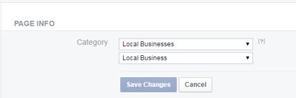 verify facebook page gray badge