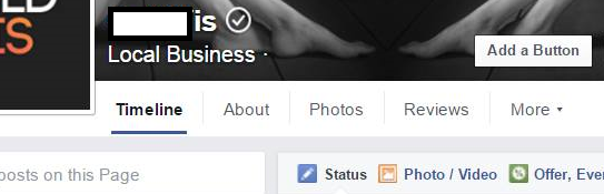request a verified badge facebook link